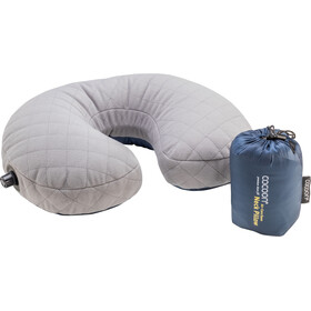 Cocoon Air Core Down Neck Pillow dark indigo/grey